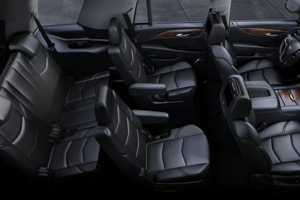 Interior Seating In The Cadillac Escalade Urbana